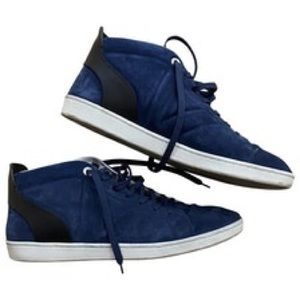 Louis Vuitton Mens Sueded sneaked 9.5 $1450